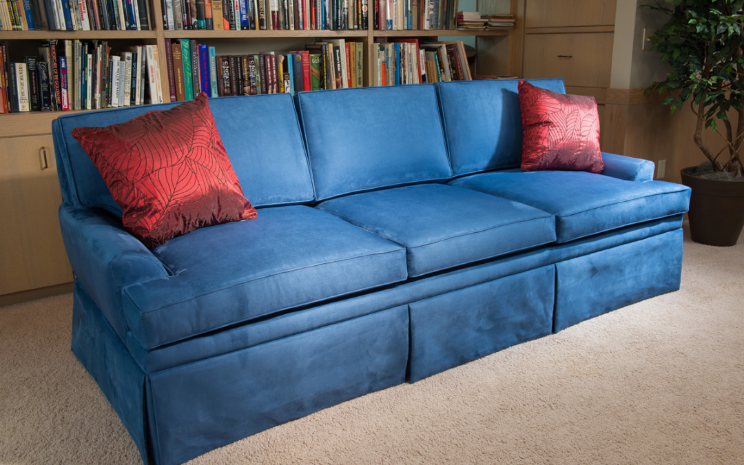 This Lovely Sofa Has a Semi-Automatic Secret